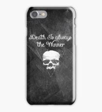 Death is always the winner iPhone Case/Skin