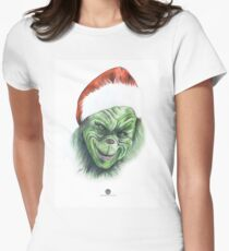 The Grinch Women's Fitted T-Shirt