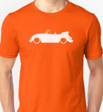 Lowered car for Classic VW Beetle Convertible enthusiasts T-Shirt