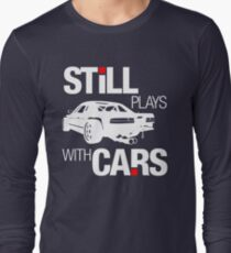 Still plays with cars (2) Long Sleeve T-Shirt