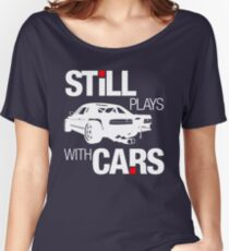 Still plays with cars (2) Women's Relaxed Fit T-Shirt