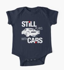 Still plays with cars (2) One Piece - Short Sleeve