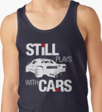 Still plays with cars (2) Tank Top