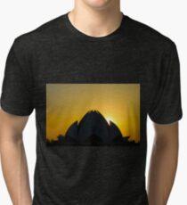 Lotus Temple Tri-blend T-Shirt