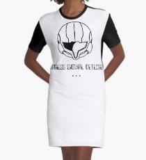 Samus (white drop) Graphic T-Shirt Dress