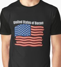 United States of Bacon Graphic T-Shirt