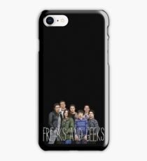 with the freaks and geeks  iPhone Case/Skin