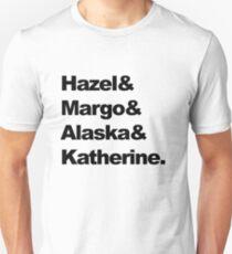 Girls of John Green  Unisex T-Shirt