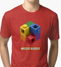 Master Builder Tee for Expert Builders Tri-blend T-Shirt