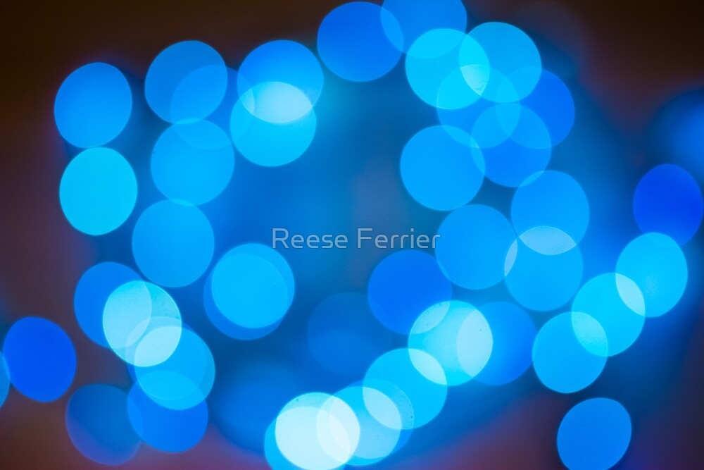 Abstract Light Circles by Reese Ferrier