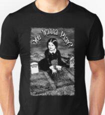 "Wednesday Addams- ""You Wanna Play?"": Unisex T-Shirt"