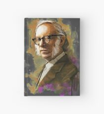 Isaac Asimov Portrait Hardcover Journal