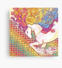 Rampant Rainbow Canvas Print
