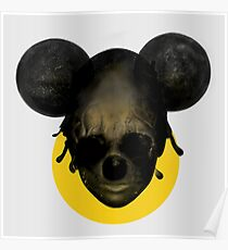Weird Mickey Mouse Poster
