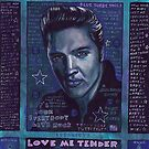 Elvis in Blue by RayStephenson