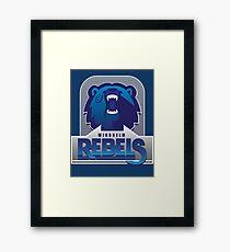 Windhelm Rebels Framed Print