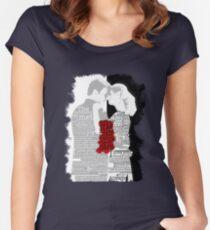 Yin Needs Yang Women's Fitted Scoop T-Shirt