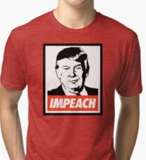 Impeach Trump  Tri-blend T-Shirt