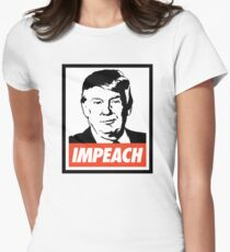 Impeach Trump  Fitted T-Shirt