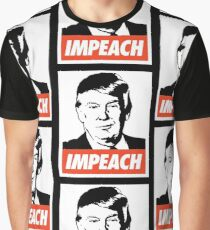 Impeach Trump  Graphic T-Shirt