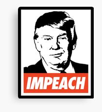 Impeach Trump  Canvas Print