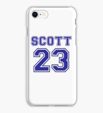 scott 23 one tree hill ravens jersey iPhone Case/Skin