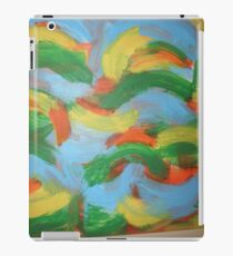Brazil clouds iPad Case/Skin