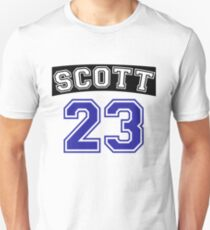 scott 23 one tree hill ravens jersey v2 Unisex T-Shirt