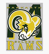 Markarth Golden Rams Photographic Print