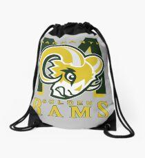 Markarth Golden Rams Drawstring Bag