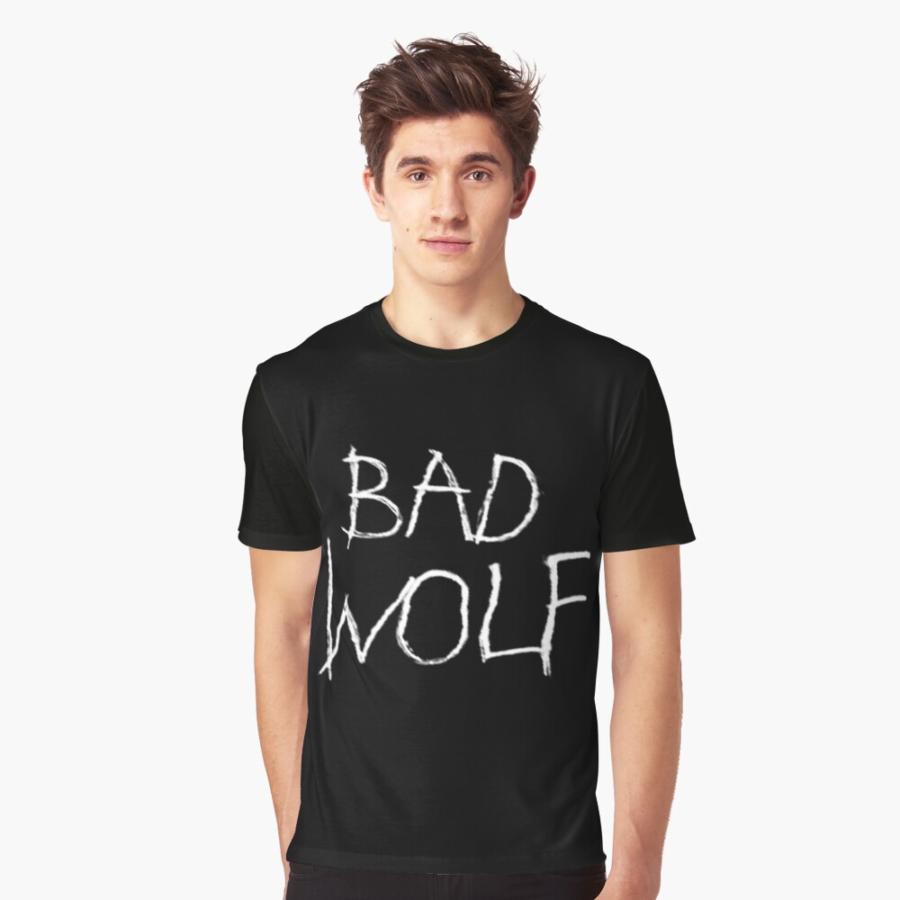 Bad Wolf Graphic T-Shirt Front