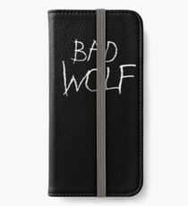 Bad Wolf iPhone Wallet/Case/Skin