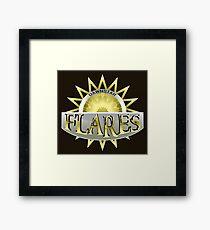 Dawnstar Flares Framed Print