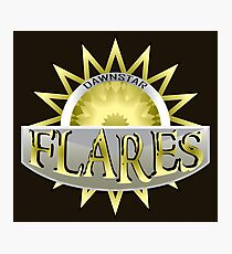 Dawnstar Flares Photographic Print