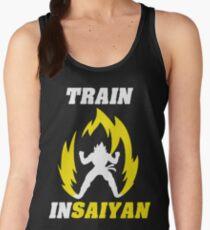 Train Insaiyan Women's Tank Top