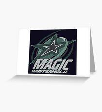 Winterhold Magic Greeting Card