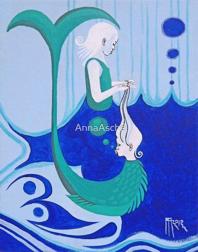playing ocean by AnnaAsche