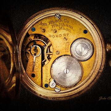 American Watch Company Pocket Watch by JohnCorney