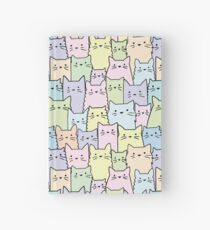 Silent Cats Pastel Hardcover Journal