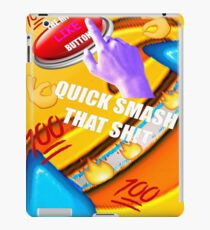 Smash That Like Button iPad Case/Skin