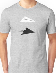 A flight of imagination (F-117 Nighthawk) Unisex T-Shirt
