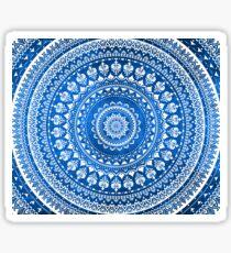 Mandala Blue Sticker