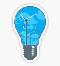Clean Energy Sticker