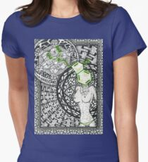 Geo DMT Womens Fitted T-Shirt
