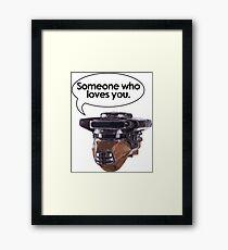 Leia Loves You Framed Print