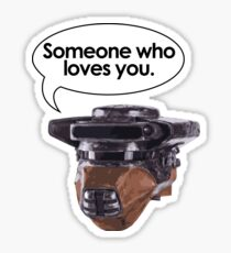 Leia Loves You Sticker