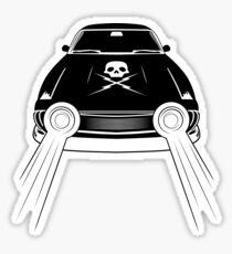 Death Proof / Chevy Nova Sticker