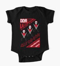 Autobahn 1982 East German Tour T-Shirt One Piece - Short Sleeve