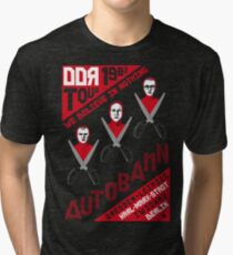 Autobahn 1982 East German Tour T-Shirt Tri-blend T-Shirt