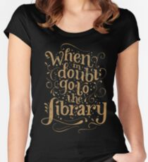 That's What Hermione Does Women's Fitted Scoop T-Shirt